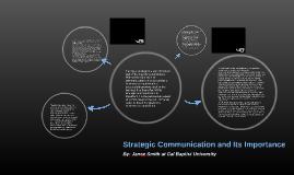 Comm 520 Strategic Planning