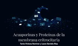 Acuaporinas y Proteinas eritrocitarias