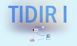TIDIR I.