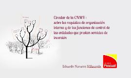Copy of Circular de la CNMV :