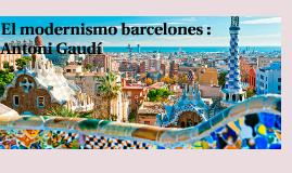 El modernismo barcelones