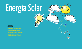 Energía Solar PI: 1º BTO