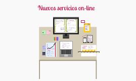 Nuevos servicios on-line