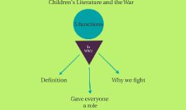 Children's Literature and the War