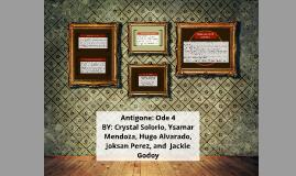 Copy of Antigone: Ode 4