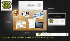 Secretaria de Hacienda y Crédito Público. Facultades