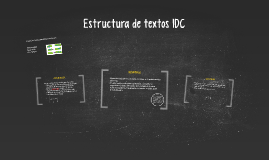 Copy of Estructura de textos IDC