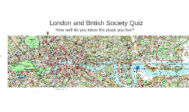 London quiz - Business & Society version