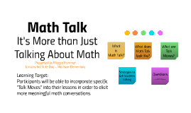 Madison Math Talk Presentation