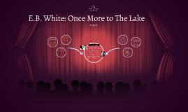 essay describing a lake