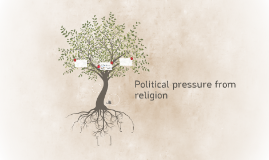 Political pressure from religion
