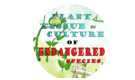 PLANT TISSUE CULTURE of ENDANGERED SPECIES
