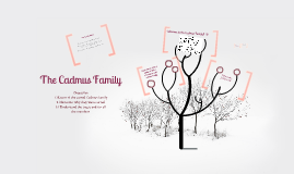 The Cadmus Family