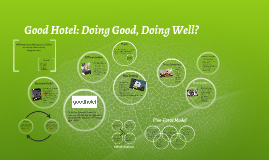 Good Hotel: Doing Good, Doing Well?