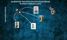 Copy of Marii Clasici ai literaturii romane
