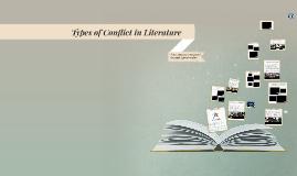 Redding - Types of Conflict in Literature