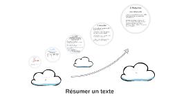 Résumer un texte