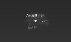 L'account google