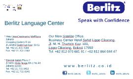 Copy of Berlitz Jakarta Prezi