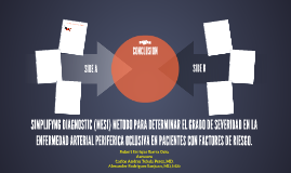 SIMPLIFYNG DIAGNOSTIC (MESI) METODO PARA DETERMINAR EL GRADO