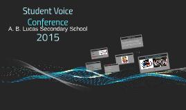 Student Voice 2015