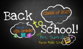 2016 Back to School!