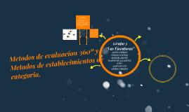 Copy of Metodos de evaluacion 360º y Metodos de establecimientos de