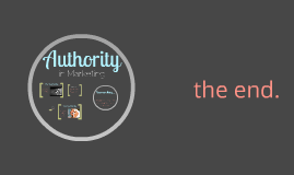 Authority in Marketing