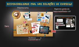 Responsabilidade civil nas relações de emprego