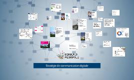 Stratégie de com digitale de Bordeaux Métropole