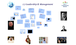 2.3 Leadership and management