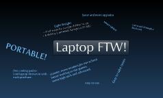Laptop FTW!