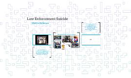 Law Enforcement Suicide
