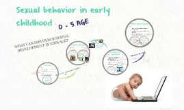 Sexual behavior in early childhood