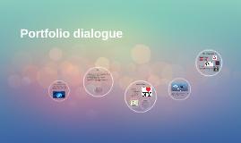 Portfolio dialogue