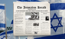 Nationalism and Zionism