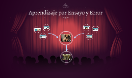 Aprendizaje por Ensayo y Error