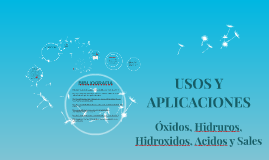 Copy of USOS Y APLICACIONES