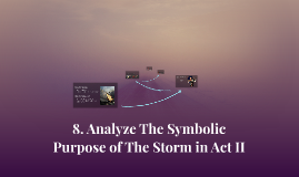 Copy of 8. Analyze The Symbolic Purpose of The Storm in Act II