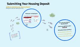 Housing Deposit - Submitting Your Housing Deposit in CardinalPay