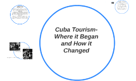 Back to the Future: Cuba's Nightlife from the 50's to Now