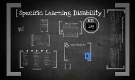 Copy of Specific Learning Disabilities