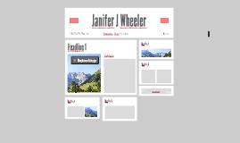 Janifer J Wheeler