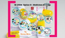 Copy of Medicine & Drugs HL