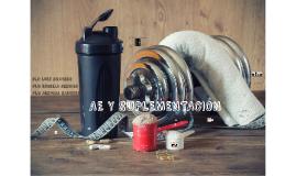 AE y Suplementación Deportiva