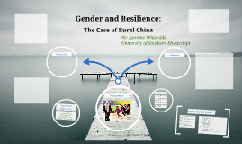 Gender and Resilience: