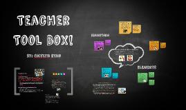 Teacher Tool Box!