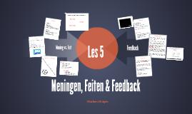 Copy of Communicatie FL2 - Meningen, Feiten en Feedback