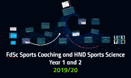 FdSc Sports Coaching and HND Sports Science Year 1 and 2