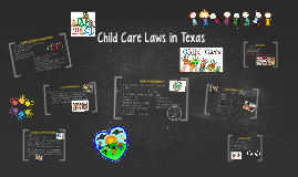 Child Care Laws in Texas
